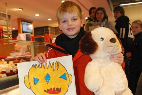"""Preisverleihung unseres Malwettbewerbs in 2010 zum Thema: """"Halloween"""""""