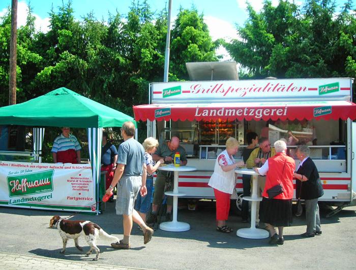 Steakhousepavillon und Grillimbiss für Veranstaltungen